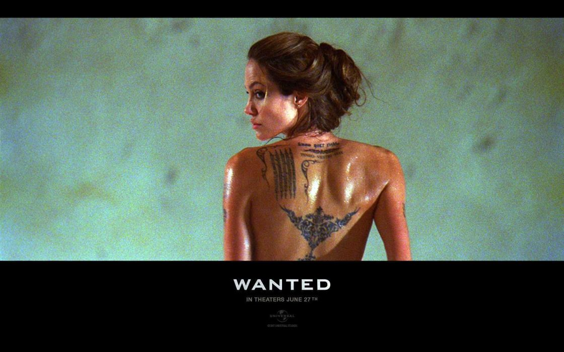 WANTED action crime fantasy sci-fi jolie (1) wallpaper