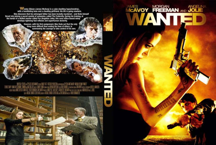 WANTED action crime fantasy sci-fi jolie (2) wallpaper