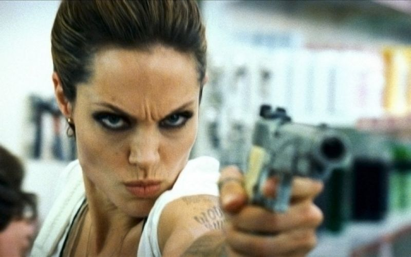 WANTED action crime fantasy sci-fi jolie (16) wallpaper