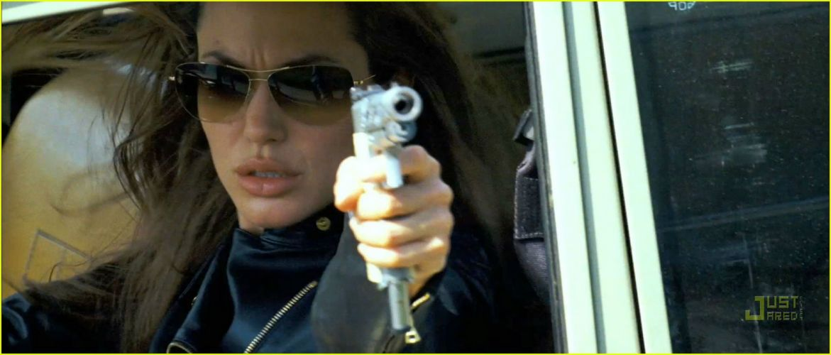 WANTED action crime fantasy sci-fi jolie (18) wallpaper