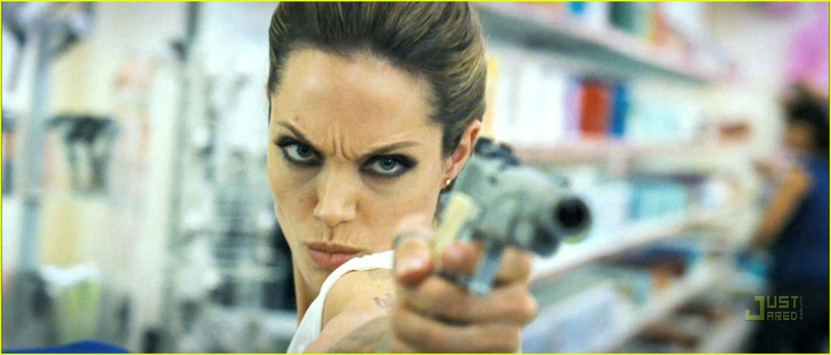 WANTED action crime fantasy sci-fi jolie (45) wallpaper