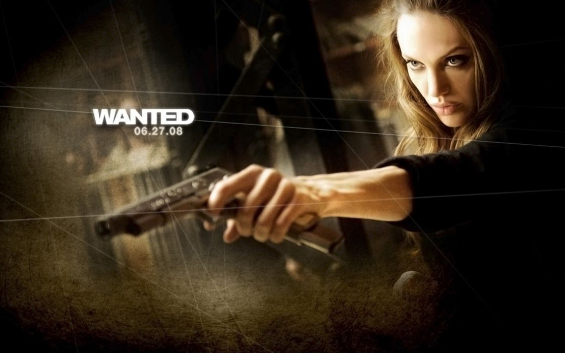 WANTED action crime fantasy sci-fi jolie (70) wallpaper