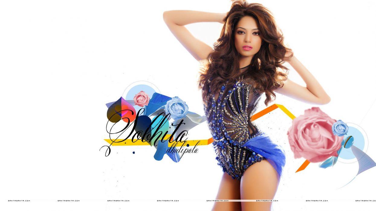 SOBHITA DHULIPALA bollywood actress model babe (4) wallpaper