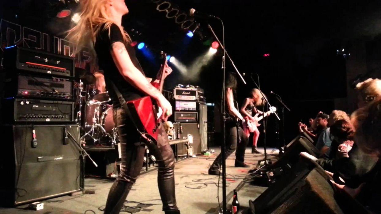 CRUCIFIED BARBARA thrash metal hard rock girls heavy (3) wallpaper