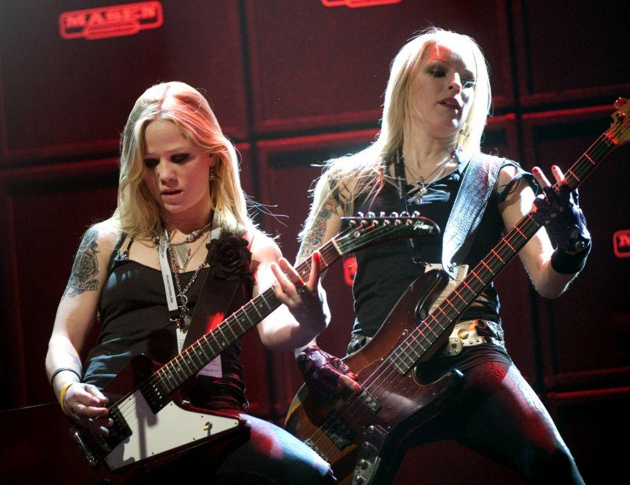 CRUCIFIED BARBARA thrash metal hard rock girls heavy (13) wallpaper
