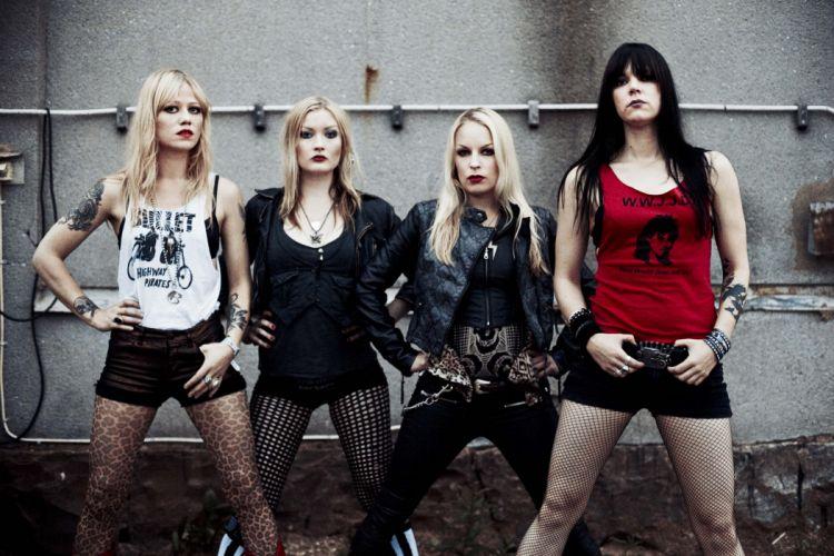 CRUCIFIED BARBARA thrash metal hard rock girls heavy (22) wallpaper