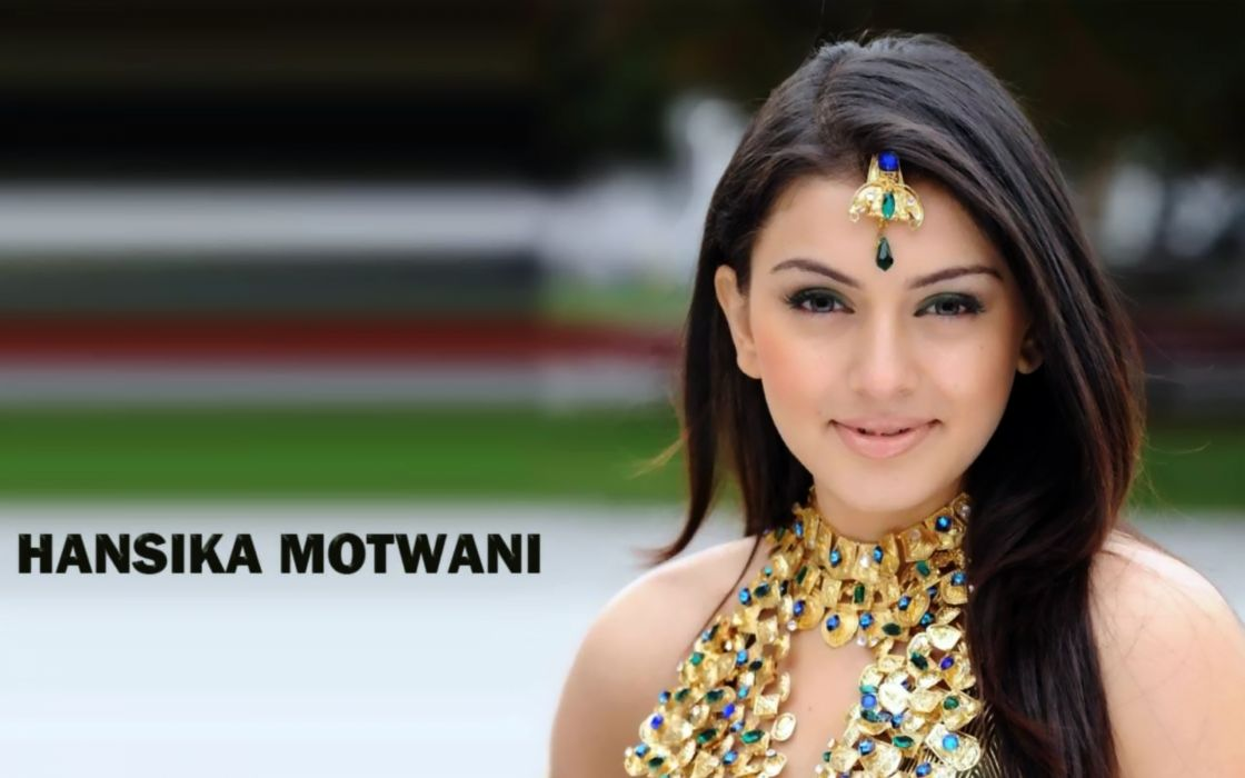 HANSIKA MOTWANI bollywood actress model babe (1) wallpaper