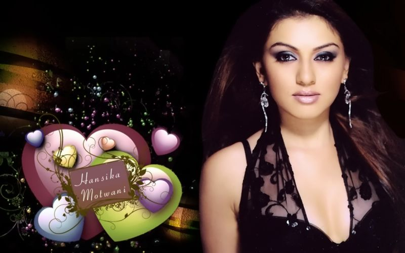 HANSIKA MOTWANI bollywood actress model babe (5) wallpaper