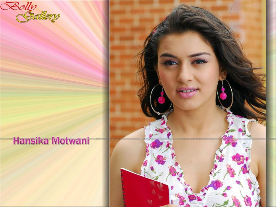 HANSIKA MOTWANI bollywood actress model babe (29) wallpaper