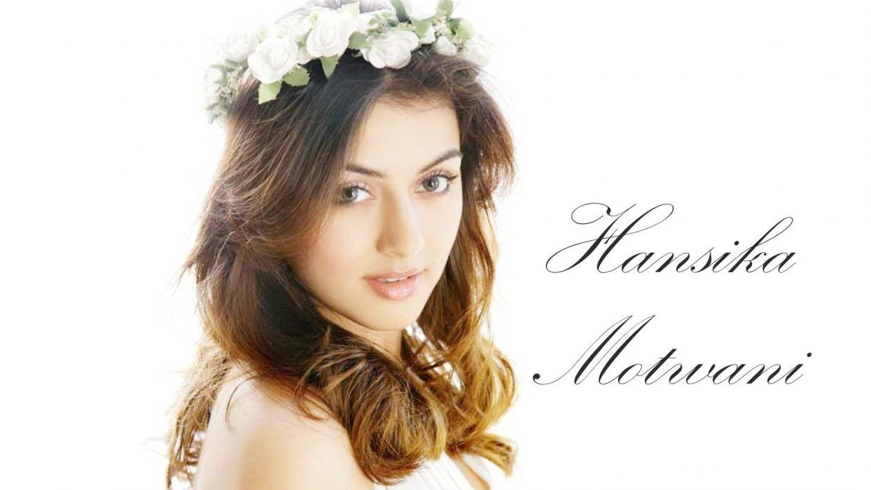HANSIKA MOTWANI bollywood actress model babe (40) wallpaper