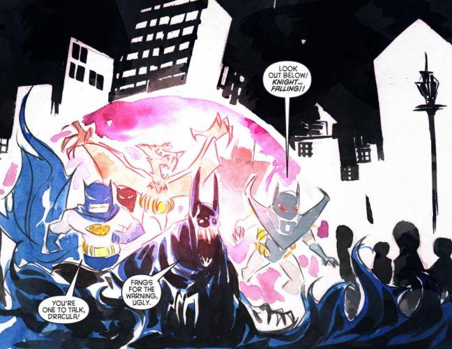 ARKHAM WAR Forever Evil d-c dc-comics crossover batman (1) wallpaper