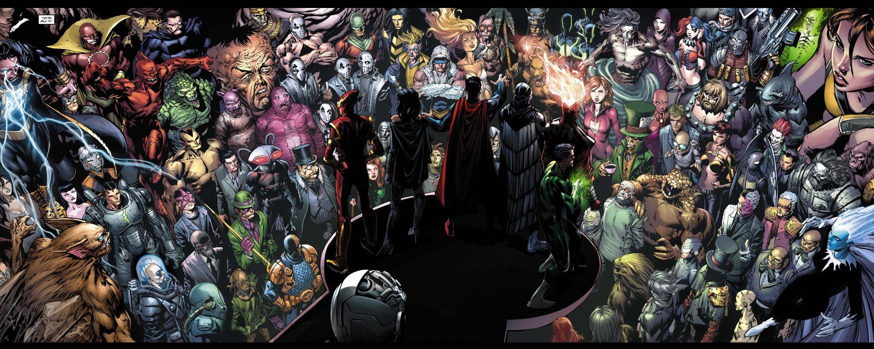 ARKHAM WAR Forever Evil d-c dc-comics crossover batman (2) wallpaper
