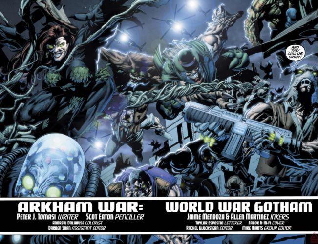 ARKHAM WAR Forever Evil d-c dc-comics crossover batman (9) wallpaper
