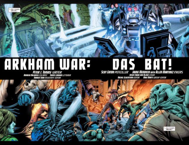 ARKHAM WAR Forever Evil d-c dc-comics crossover batman (11) wallpaper