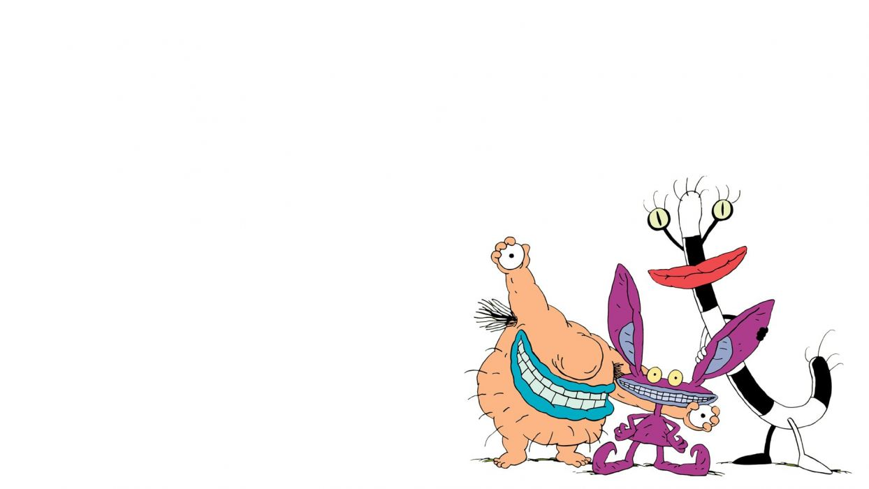 AAAHH REAL MONSTERS family animation cartton humor (1) wallpaper