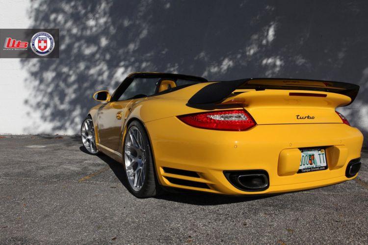Porsche-997-Turbo-CONVERTIBLE wallpaper