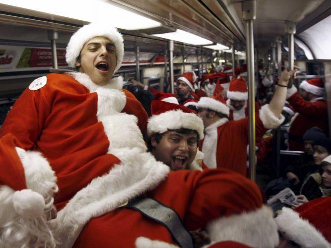 bad santa comedy christmas wallpaper