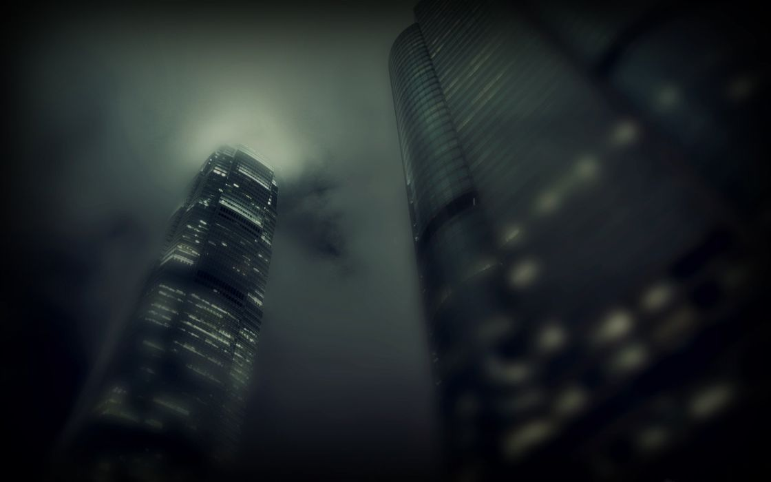 skyscraper city building wallpaper