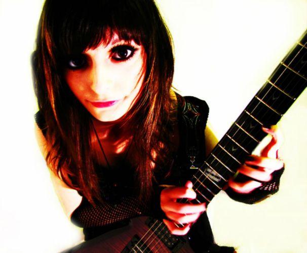 JJkitten metal heavy girl babe guitar jacqueline wallpaper