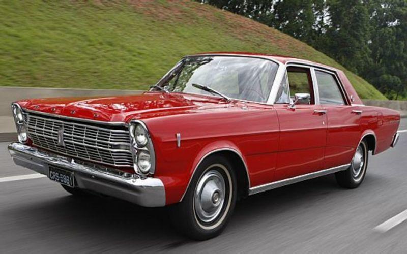 1969 Ford Galaxie 500 Brazilian Retro Classic wallpaper