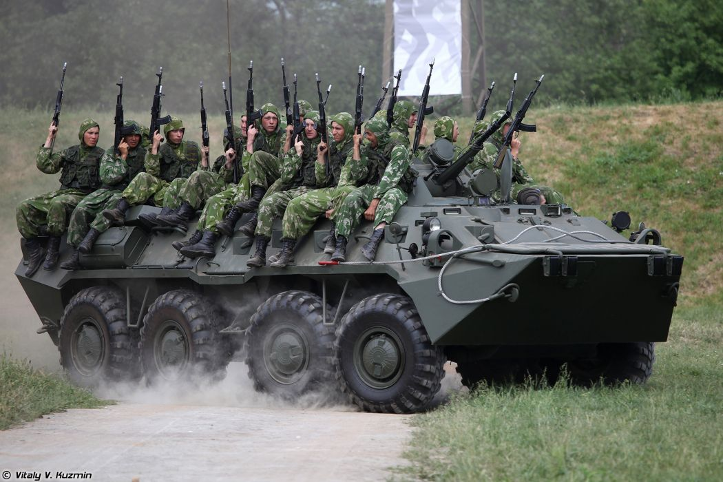 Russian Red Star Russia Vehicle Military Army Combat Armored BTR-80 Troops Soldiers Rifle Battalion-2nd-Guards-Tamanskaya-Motor-Rifle-Division 4000x2667 (7) wallpaper