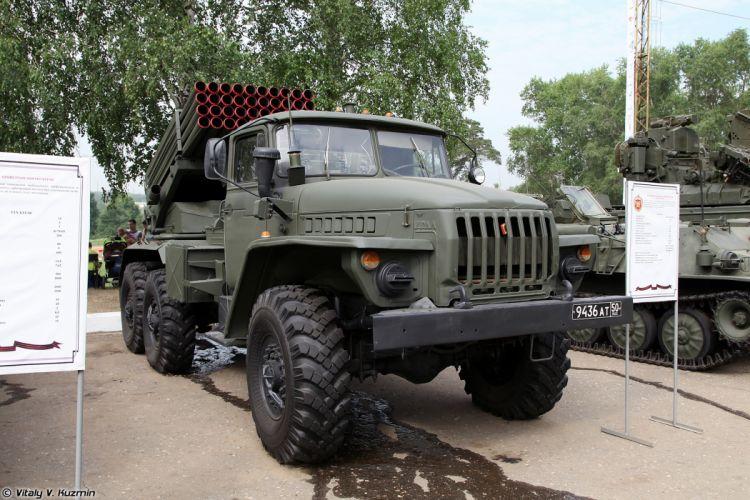 Russian Red Star Russia Vehicle Military Army Combat Armored 2B17-1 9K51M-Tornado-G-MLRS Truck 4000x2667 (3) wallpaper
