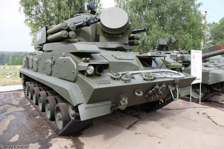Russian Red Star Russia Vehicle Military Army Combat Armored 2S6M-Tunguska-M 4000x2667 (3) wallpaper