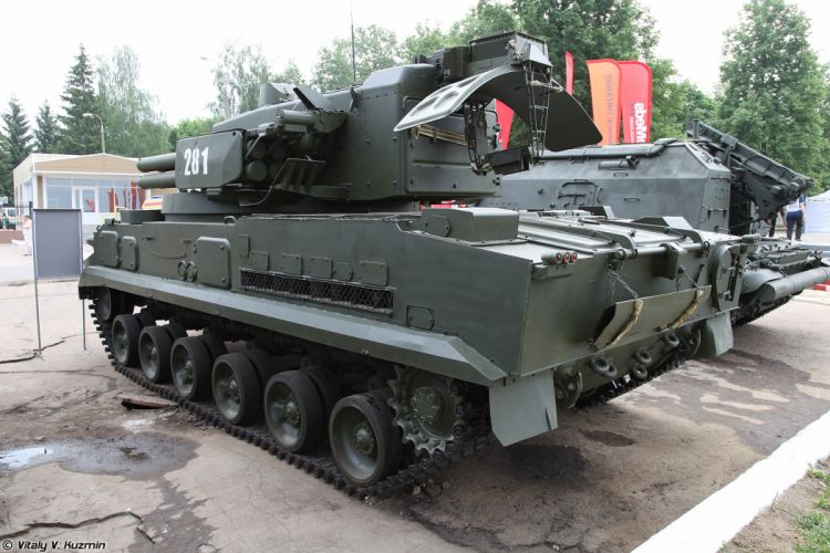 Russian Red Star Russia Vehicle Military Army Combat Armored 2S6M-Tunguska-M 4000x2667 (4) wallpaper