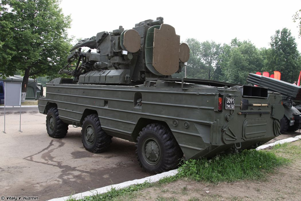 Russian Red Star Russia Vehicle Military Army Combat Armored 9K33M3-Osa-AKM 4000x2667 (5) wallpaper