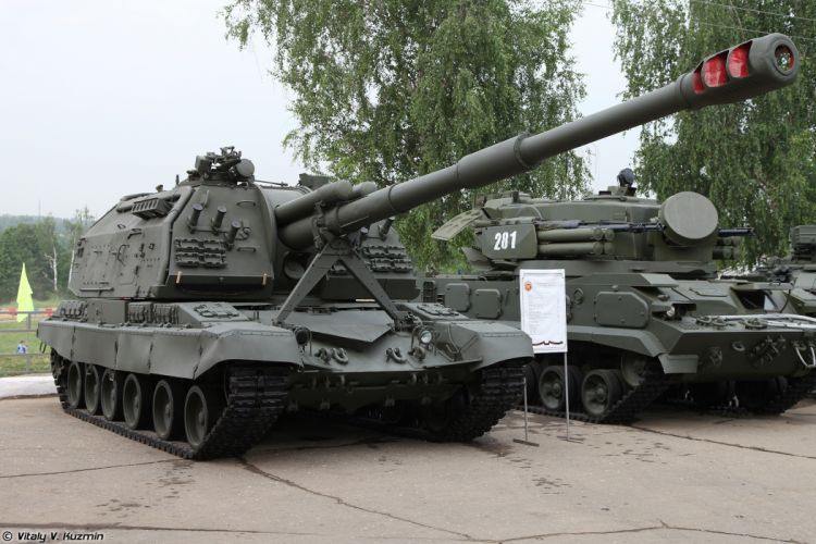 Russian Red Star Russia Vehicle Military Army Combat Armored Howtizer 2S19M1-Msta-S 4000x2667 (4) wallpaper
