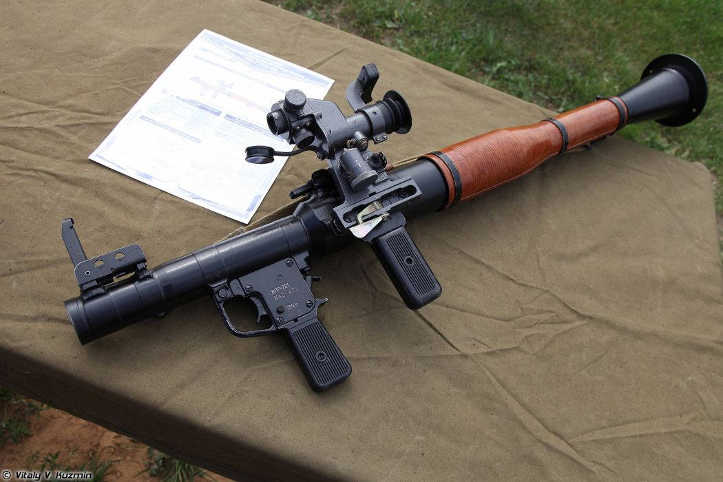 Russian Red Star Russia Wepon military army RPG-7V1 grenade launcher 4000x2667 (1) wallpaper
