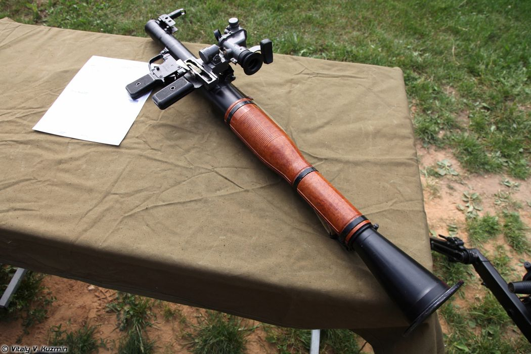 Russian Red Star Russia Wepon military army RPG-7V1 grenade launcher 4000x2667 (2) wallpaper