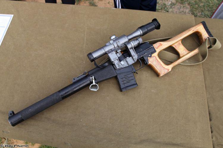 Russian Red Star Russia Wepon military army VSS-Vintorez sniper rifle 4000x2667 (4) wallpaper