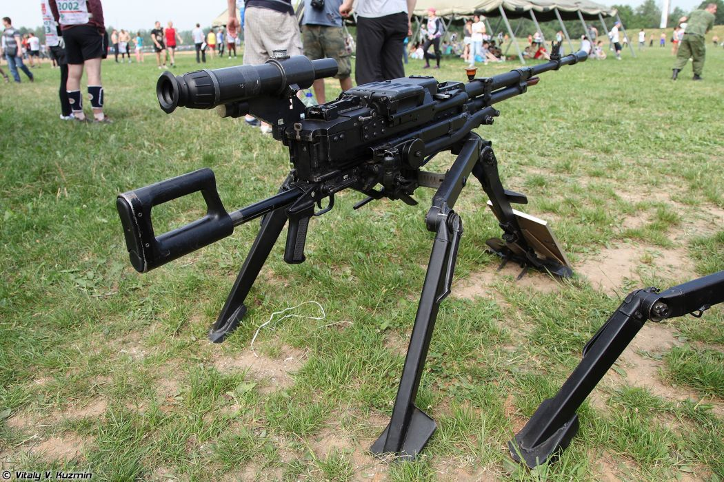 Russian Red Star Russia Wepon military army 12_7mm machine-gun NSV 6T7-mount 4000x2667 (4) wallpaper