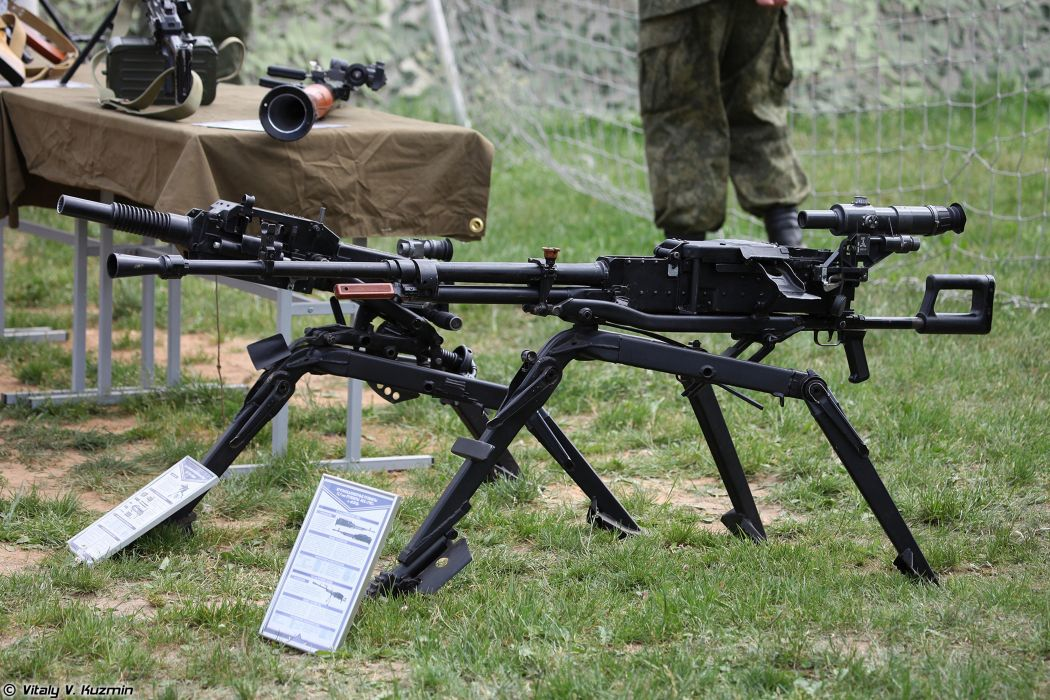 Russian Red Star Russia Wepon military army 12_7mm machine-gun NSV 6T7-mount 4000x2667 (7) wallpaper