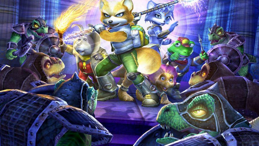 STARFOX shooter family nintendo sci-fi star fox (45) wallpaper