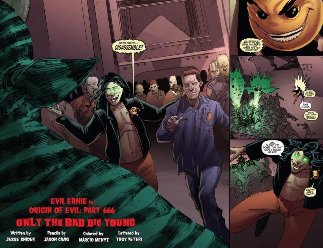 EVIL ERNIE zombie dark horror halloween (8) wallpaper
