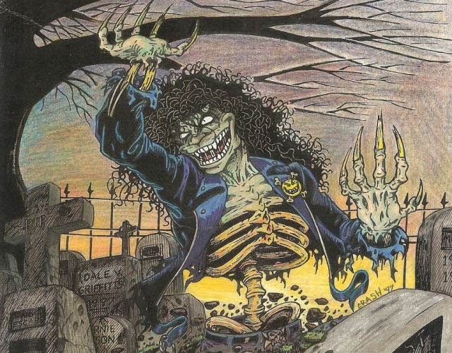 EVIL ERNIE zombie dark horror halloween (10) wallpaper
