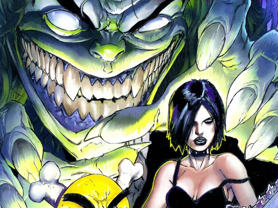 EVIL ERNIE zombie dark horror halloween (17) wallpaper