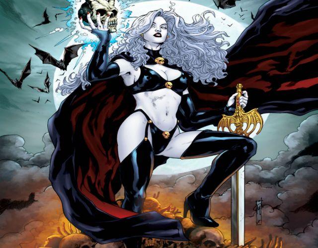 LADY DEATH horror dark demon satan goddess fantasy sexy babe (31) wallpaper