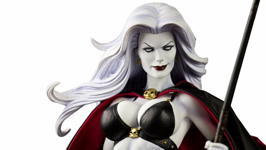 LADY DEATH horror dark demon satan goddess fantasy sexy babe (43) wallpaper