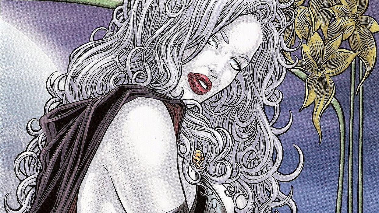 LADY DEATH horror dark demon satan goddess fantasy sexy babe (51) wallpaper