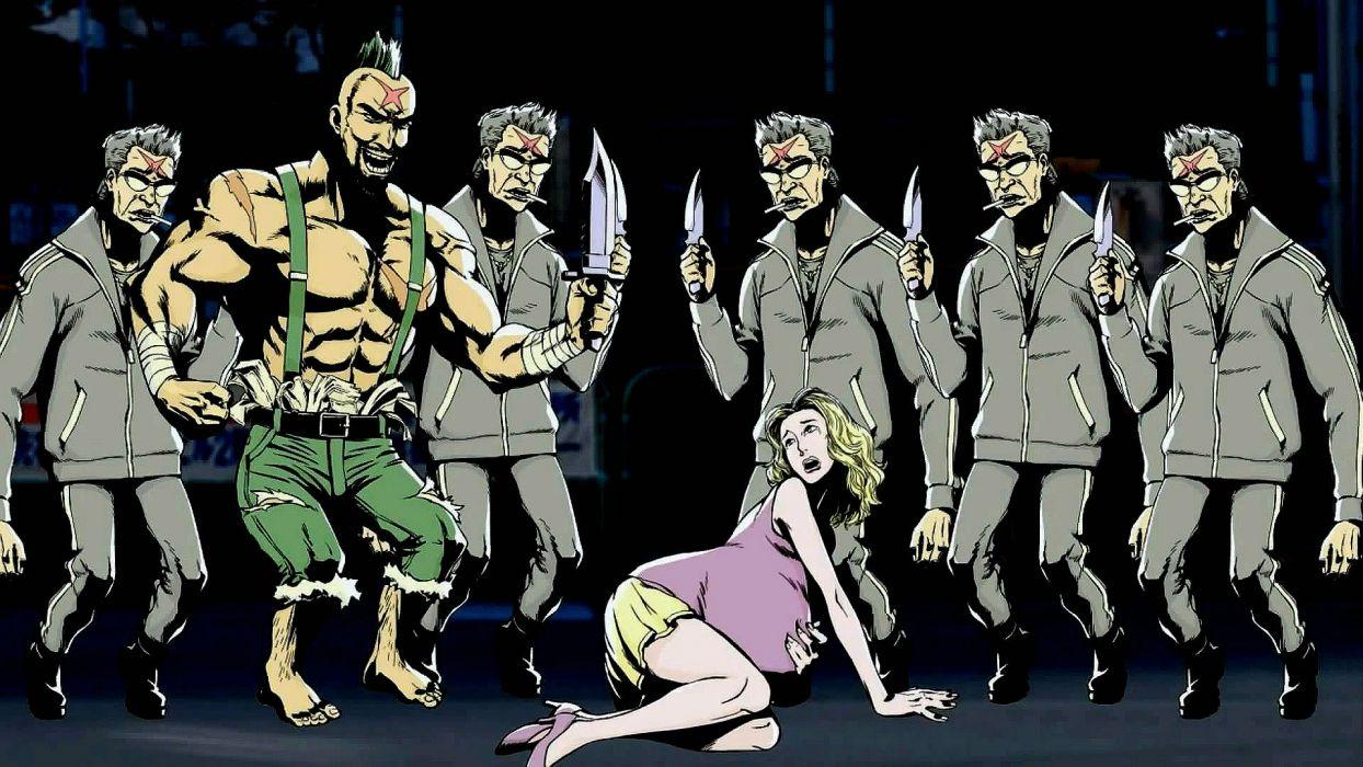 INFERNO COP anime cartoon animation skull dark comedy action (13) wallpaper