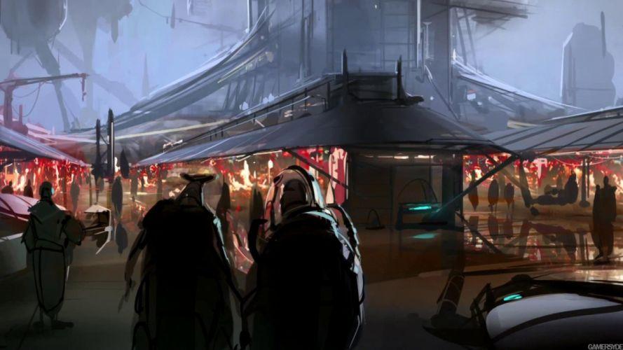STAR WARS 1313 action adventure sci-fi futuristic (1) wallpaper