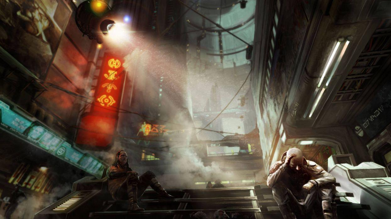 STAR WARS 1313 action adventure sci-fi futuristic (33) wallpaper