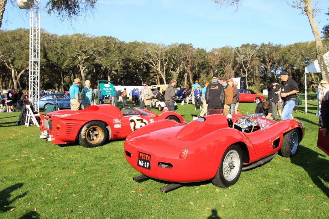1958 Ferrari 335-S Race Racing Car Vehicle Sport Supercar Sportcar Supersport Classic Retro Italy 1536x1024 (2) wallpaper