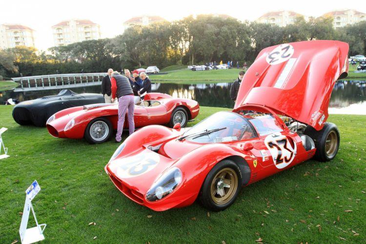 1967 Ferrari 330 P3-4 Car Vehicle Sport Supercar Sportcar Supersport Classic Retro italy Red 1536x1024 (1) wallpaper