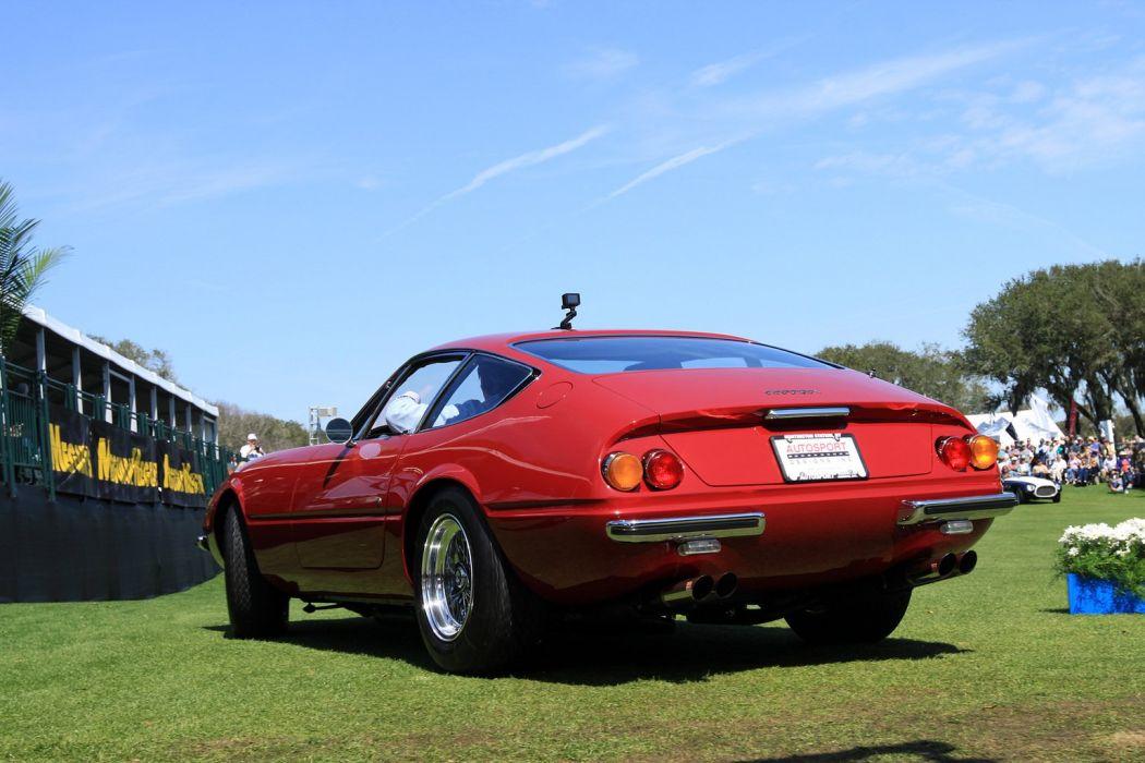 1970 Ferrari 365 GTB-4 Daytona Car Vehicle Sport Supercar Sportcar Supersport Classic Retro Italy Red 1536x1024 (3) wallpaper