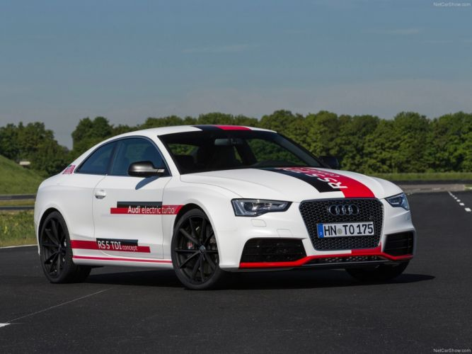 Audi RS5 TDI Concept 2014 Car Vehicle Sport Supercar Sportcar Supersport Germany Hybrid Wallpaper 4000x3000 (3) wallpaper