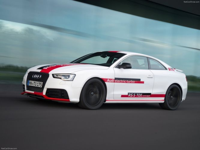 Audi RS5 TDI Concept 2014 Car Vehicle Sport Supercar Sportcar Supersport Germany Hybrid Wallpaper 4000x3000 (6) wallpaper